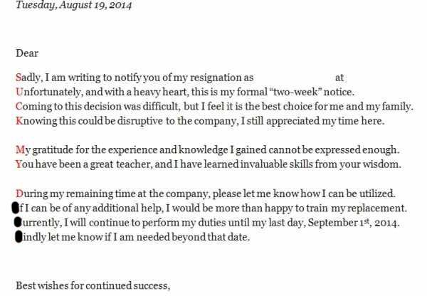 Fantastic Resignation Letters No Boss Will Ever Forget ...